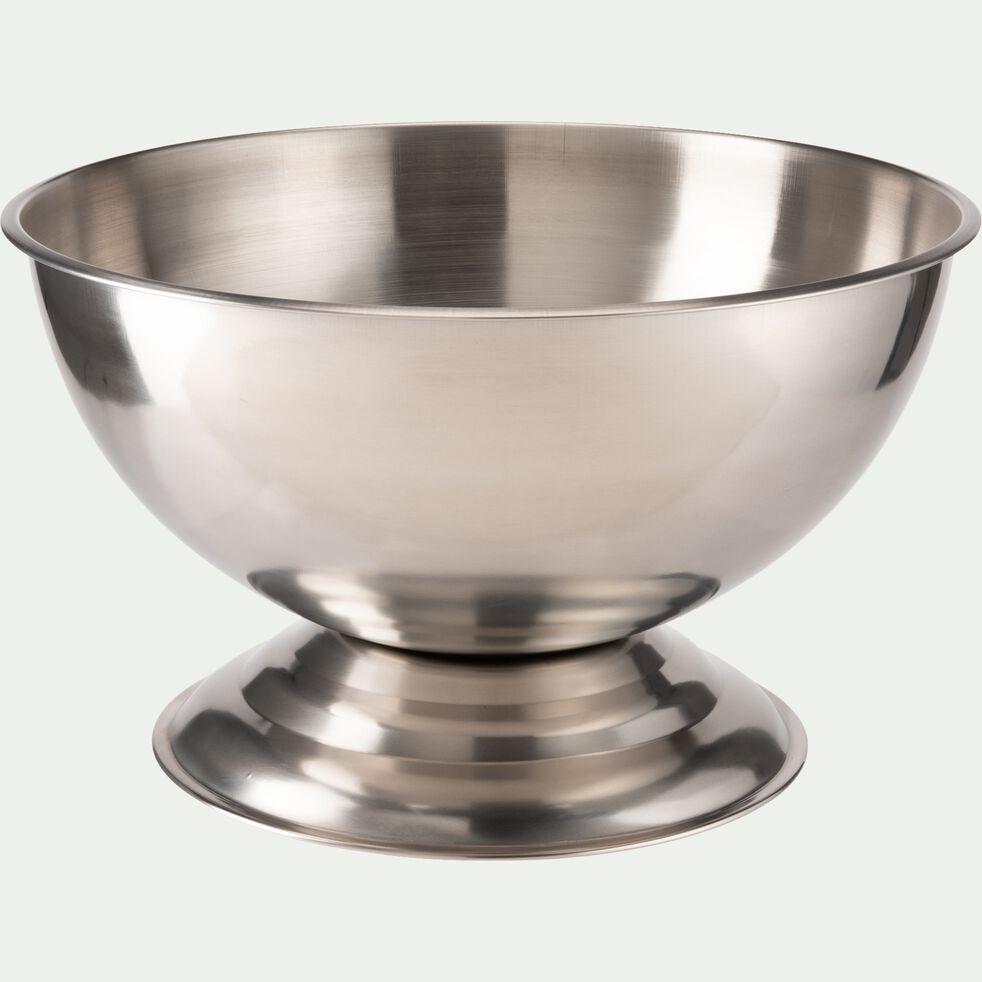 Vasque à champagne en inox - argenté-ACAMPA