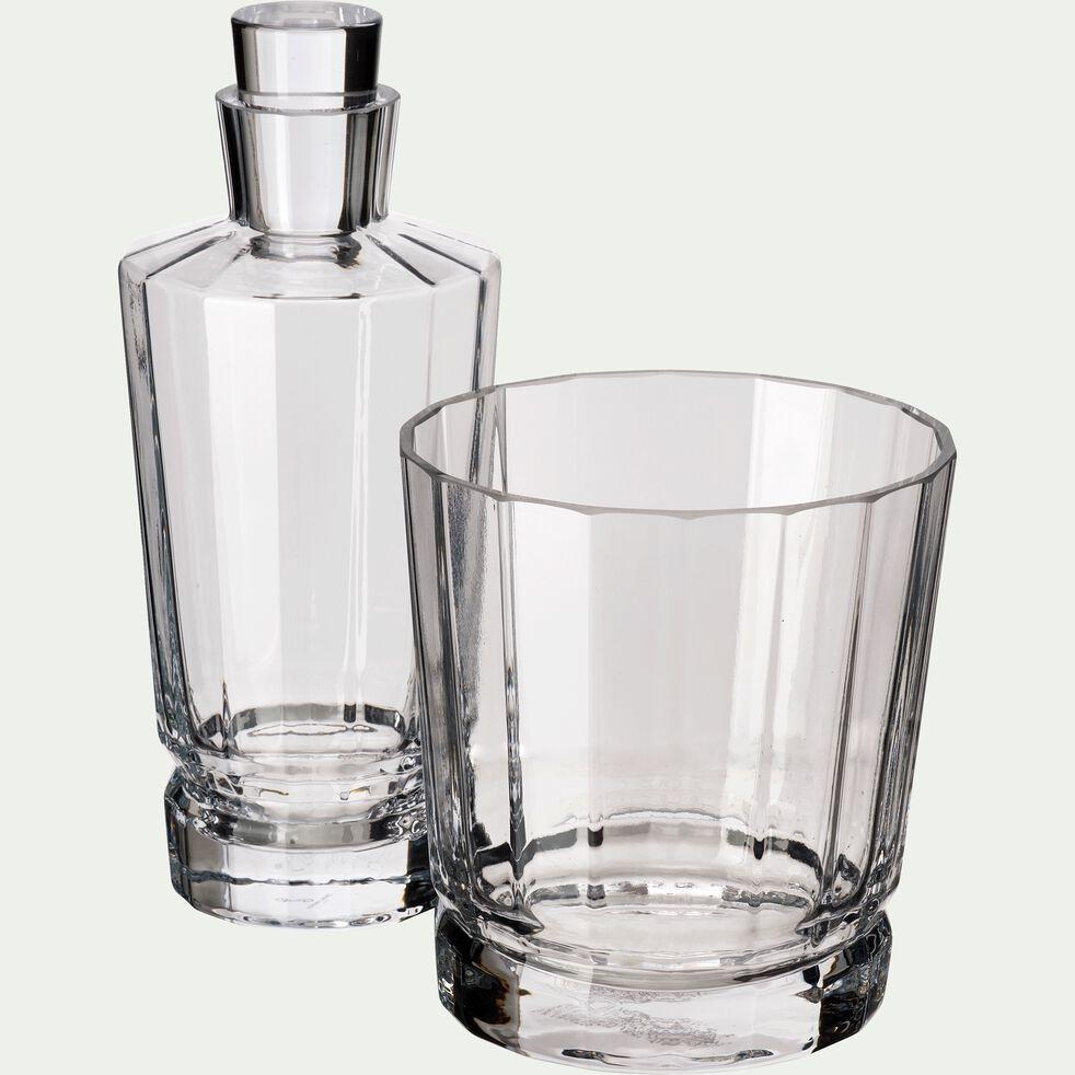 Seau à glaçons en cristallin transparent-MACASSAR