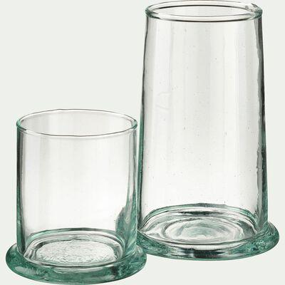 Verre transparent en verre recyclé 30cl-BALEM