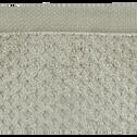 Drap de douche en coton 70x140cm vert olivier-ETEL