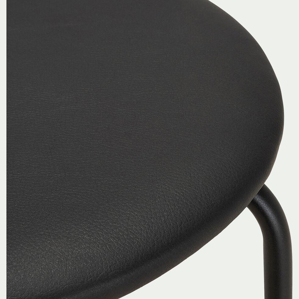 Tabouret haut - noir H75cm-GREASQUE