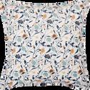 Housse de couette en percale de coton à motifs  240x220cm et 2 taies d'oreillers-FATINA