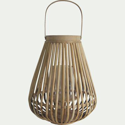 Lanterne en bambou H36cm-ANGEL