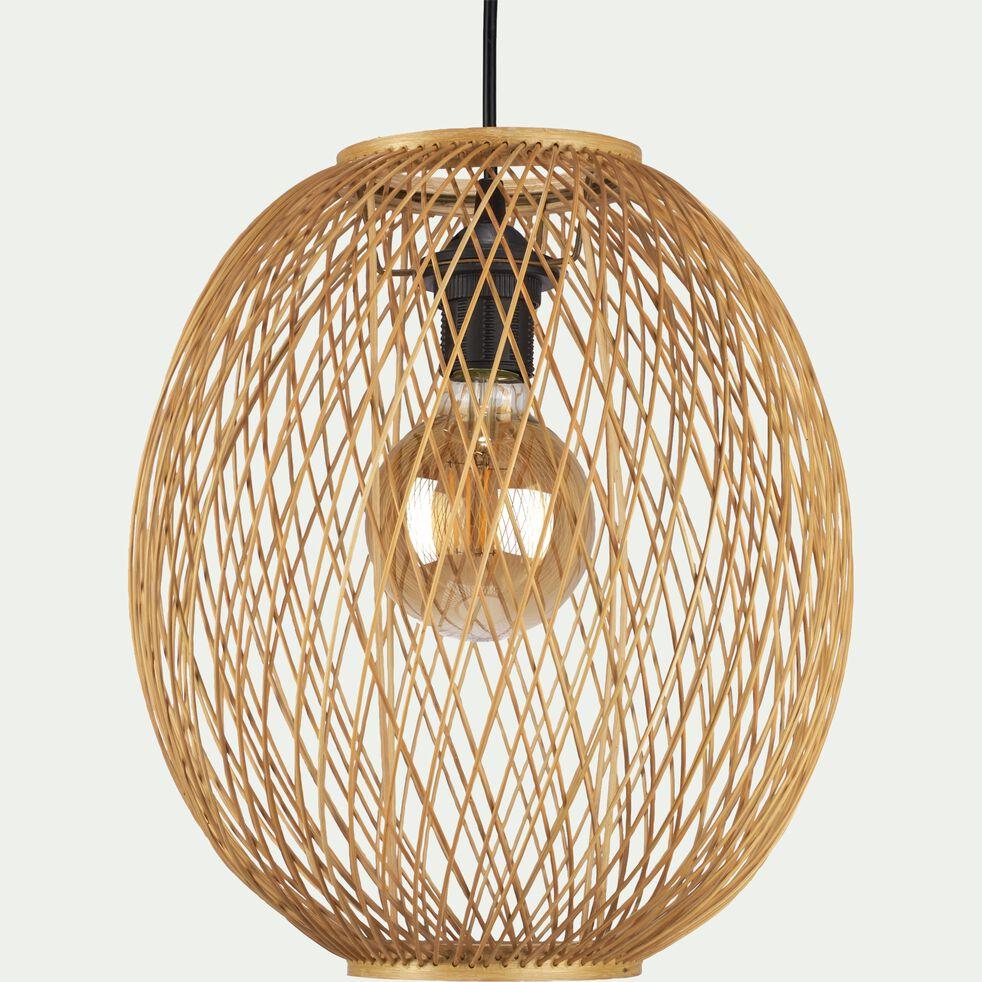 Suspension naturelle non électrifiée en bambou D30xH34cm-LORGUES