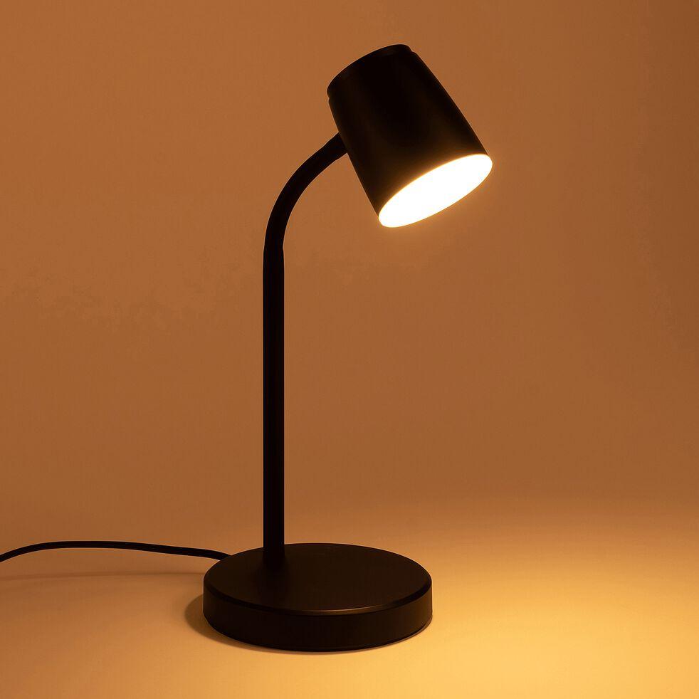 Lampe de bureau LED - noir-LUDI