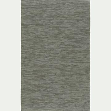 Tapis de cuisine effet tissé vert 50x80cm-VITOU