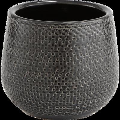 Pot en céramique gris (plusieurs tailles)-GIZIA