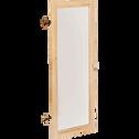Porte vitrée coloris chêne clair-Biala