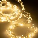 Guirlande lumineuse 220cm - 672 microLED blanc chaud-ESTEL