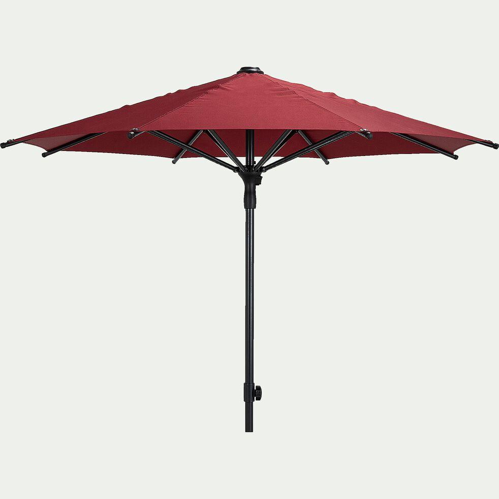 Parasol droit - rouge ricin (D210cm)-Calado