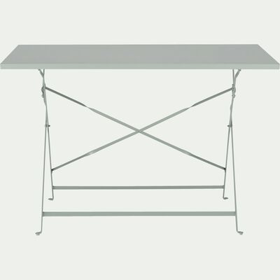 Table de jardin pliante vert olivier L110cm (4 places)-CERVIONE