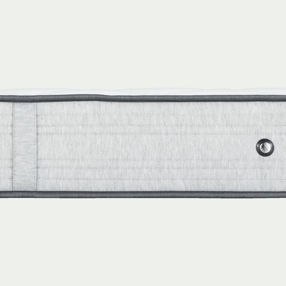 Matelas ressorts gris clair 160x200cm H25cm-ROCCAS