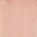 Rideau en velours côtelé rose 140x250cm-ODIN