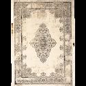 Tapis écru et gris clair 120x170cm-CAPADOCE