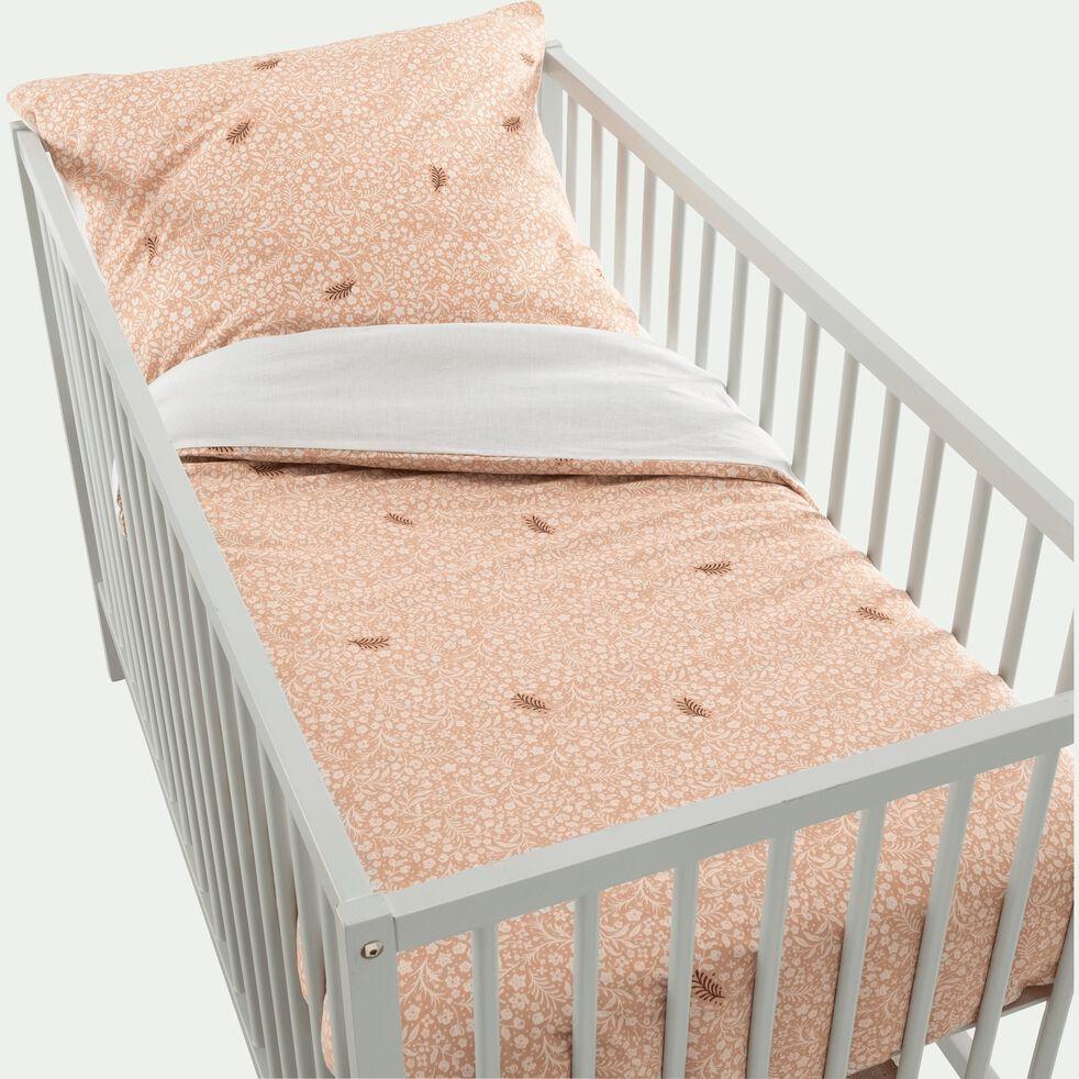 Housse de couette bébé 120x140cm et 1 taie d'oreiller-SUREAU