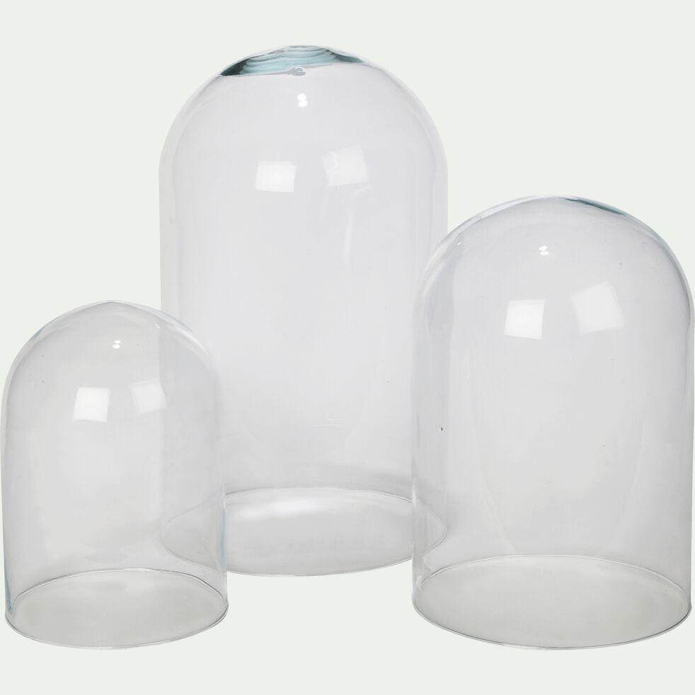 Cloche en verre - transparent H36cm-LAGOA