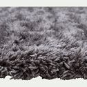 Tapis synthétique effet fourrure - gris 120x170cm-mala