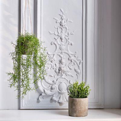 Plante tombante artificielle - vert H81cm-PLANTE TOMBANTE