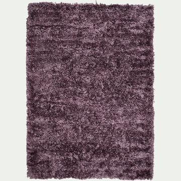 Tapis imitation fourrure - violet 120x170cm-mala