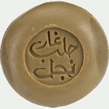 Savon d'alep au jasmin bio rond - 100g-Wael