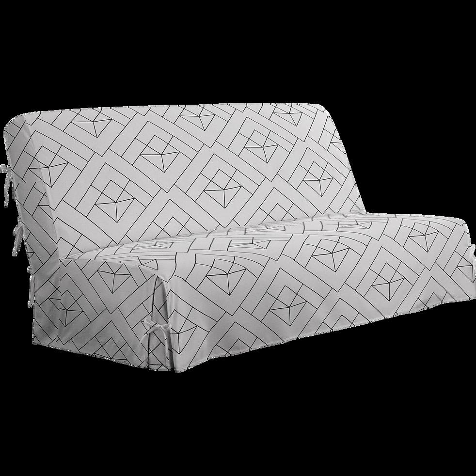 housse nouettes pour bz motifs gris 140cm housse housses de clic clac et bz alinea. Black Bedroom Furniture Sets. Home Design Ideas