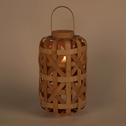 Lanterne en bambou H49cm-BADA