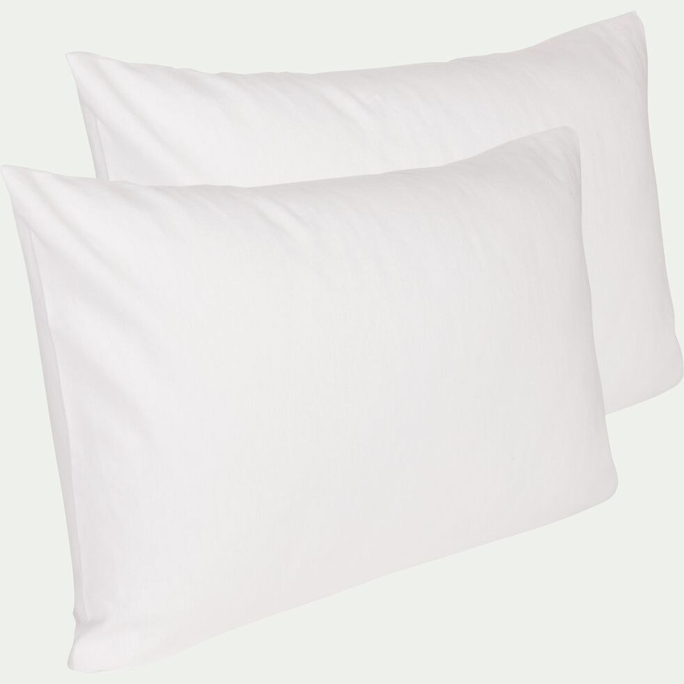 Lot de 2 protège-oreillers en coton - 50x70 cm-Breath