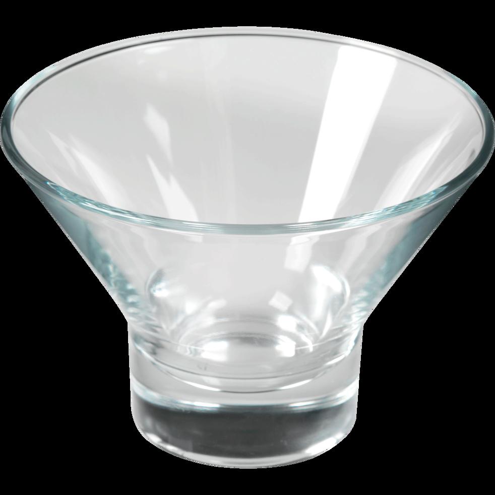 Coupe à glace en verre 37.5cl-YPSILON