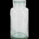 Bonbonnière en verre recyclé transparent 650cl-EPURE
