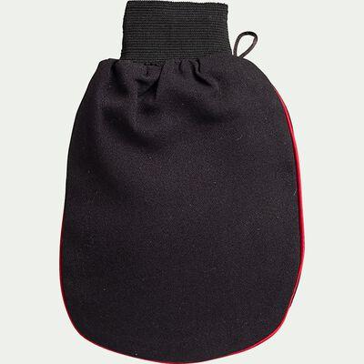 Gant de gommage Kessa en polyester - noir-Kessa