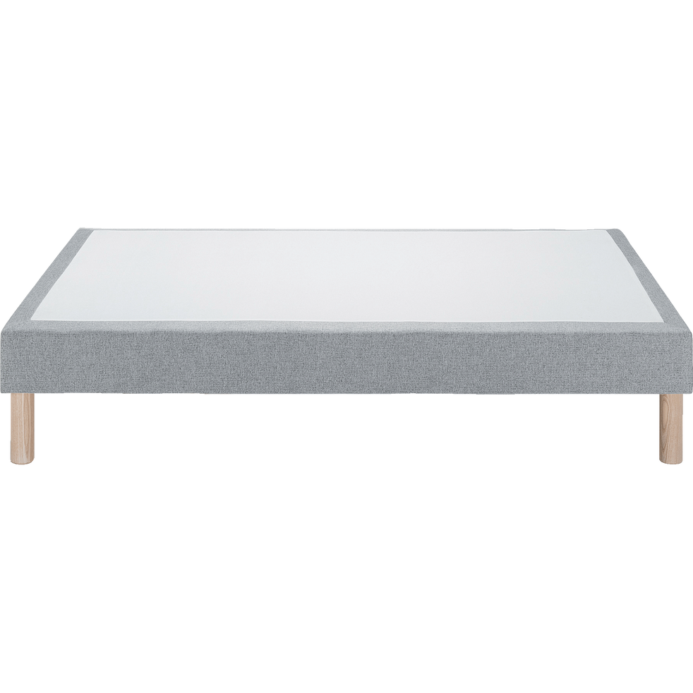 Sommier tapissier 160x200cm gris anthracite-SORMIOU
