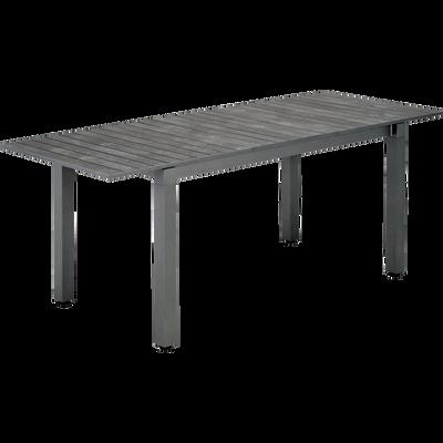 Table de jardin extensible (4 à 6 places)-LARIO