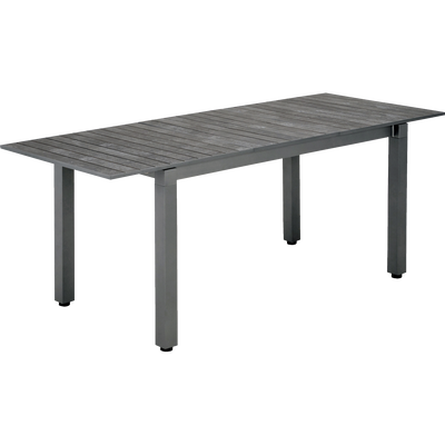 Table de jardin extensible (4 à 6 places)-LARIO