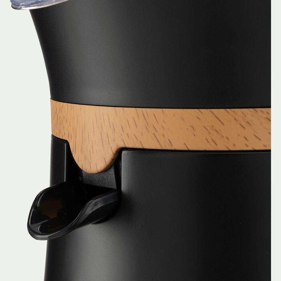 Presse agrumes - noir brillant H23,8xD16,5cm-Caufa