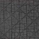 Couvre-lit gris 250x220cm-TRIA