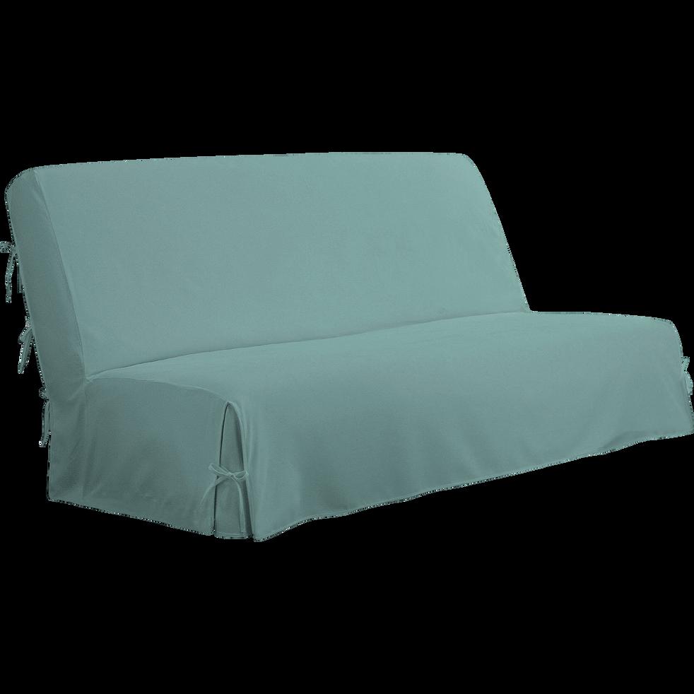 housse pour clic clac bleu clair housse housses de clic clac et bz alinea. Black Bedroom Furniture Sets. Home Design Ideas
