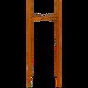 Porte-plante en métal rouille H55xD24cm-ASCOT