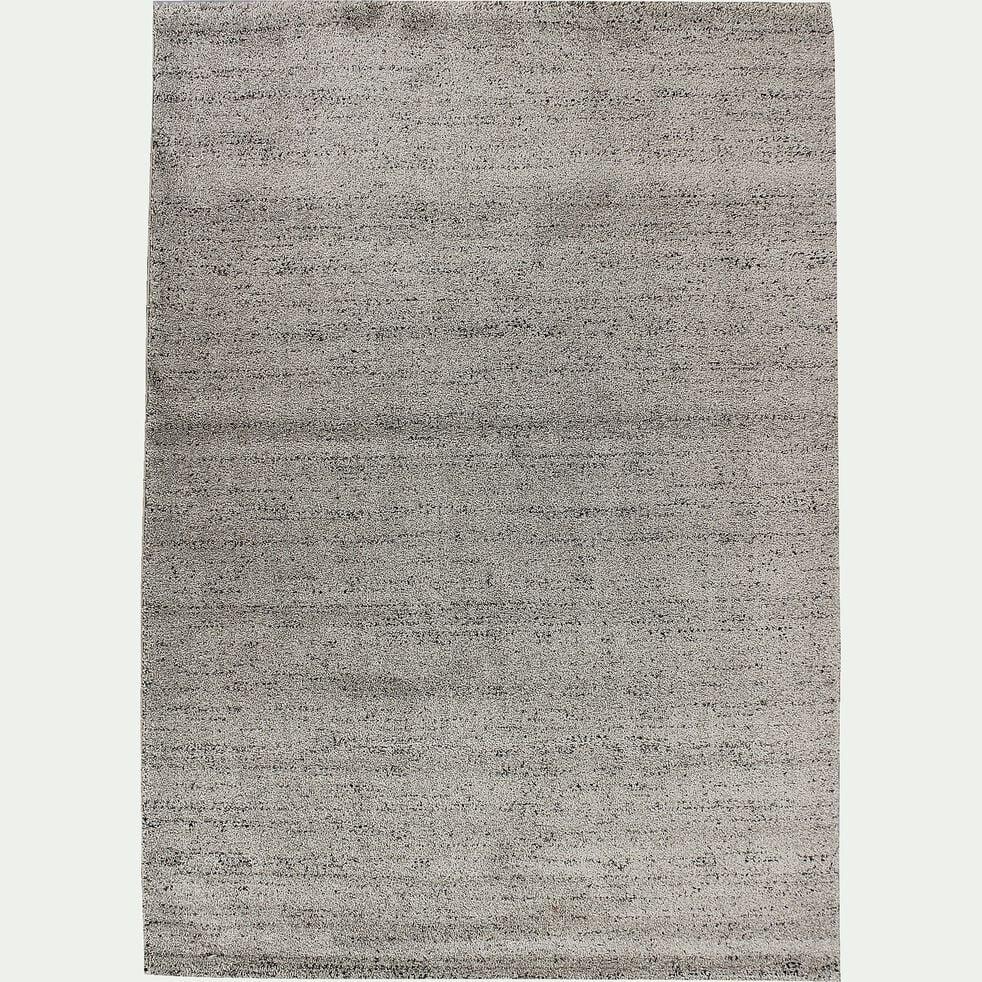 Tapis moucheté - gris clair 200x290cm-STESSY
