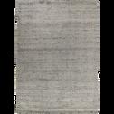 Tapis gris clair moucheté 200x290cm-STESSY