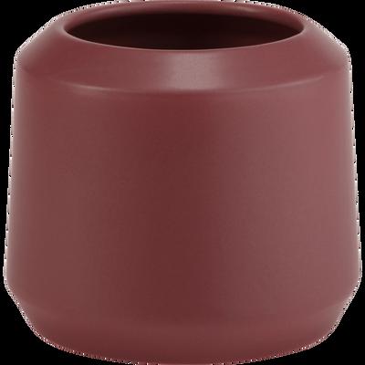 Vase en céramique rouge H15xD14cm-APHELIE