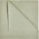 Lot de 20 serviettes intissé vert olivier 40x40cm-SALERNE