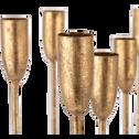 Chandelier en métal doré D37xH39cm-ETRETAT