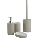 Balai et porte-balai WC gris WC-LOUBET