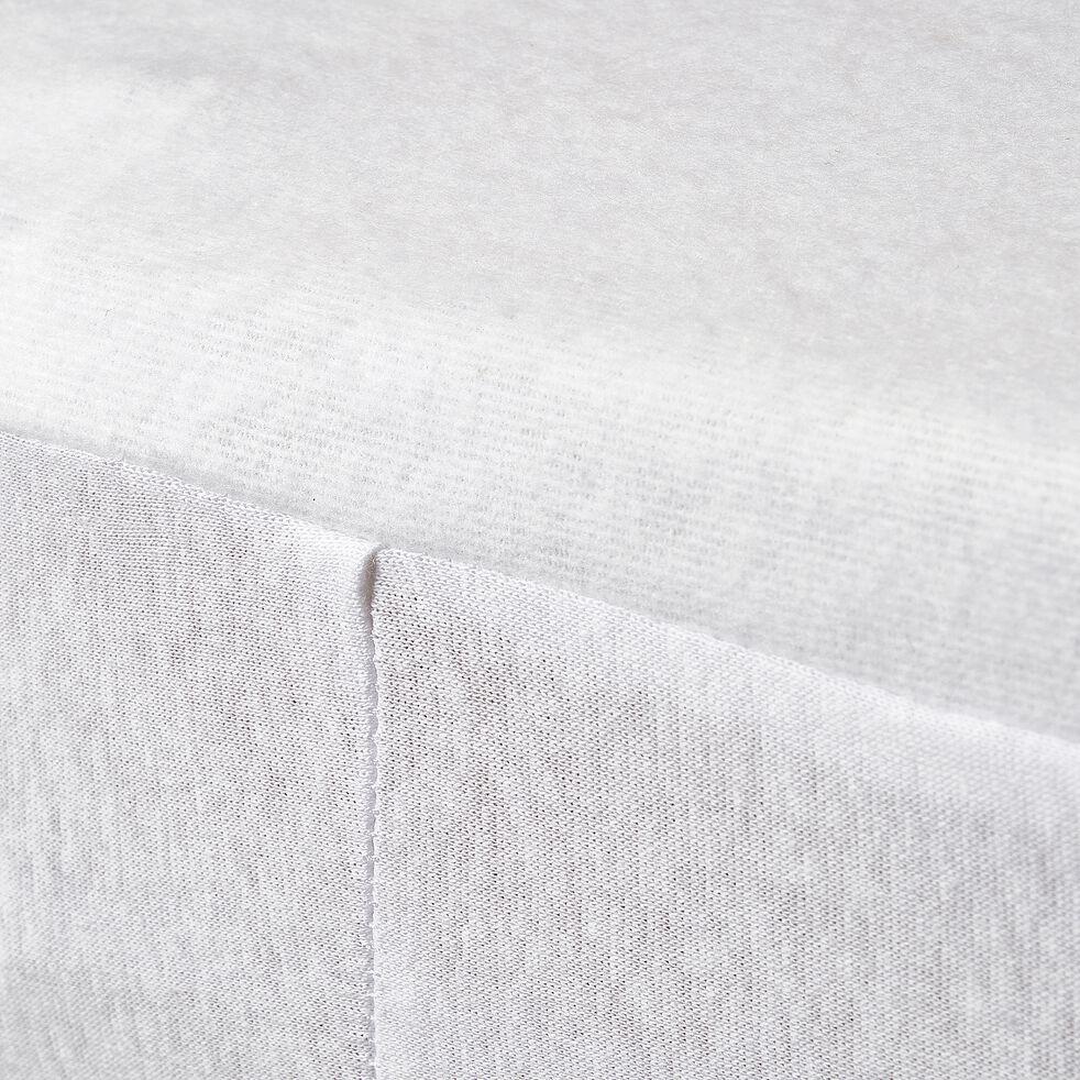Protège matelas 70x140cm imperméable en coton - bonnet 15cm-NINA