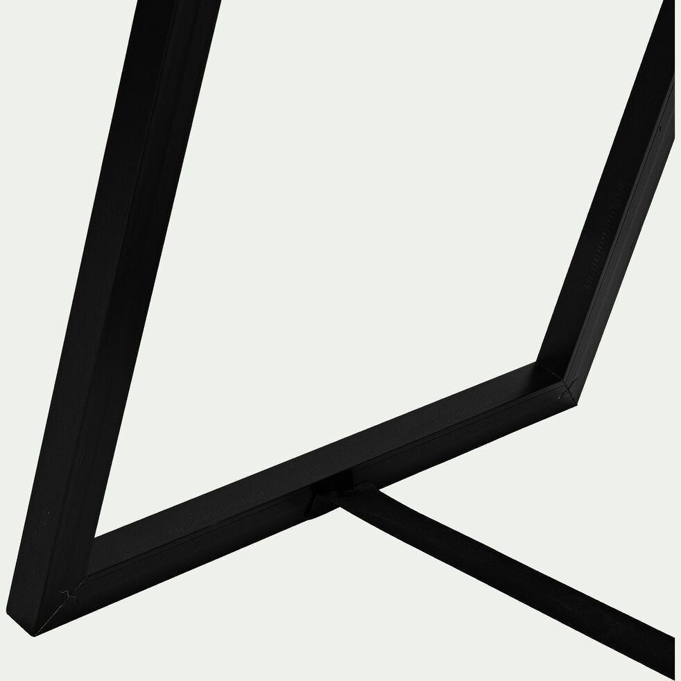 Miroir psyché en bois - noir H142cm-MILO
