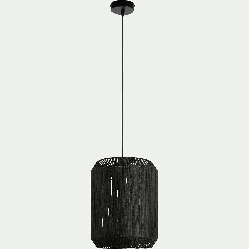 Suspension en métal 31cm - noir-CAMPA