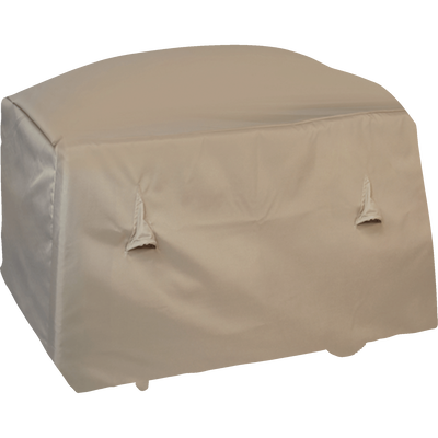 Protection taupe pour barbecue (L102xP46xH92cm)-HOUSSE