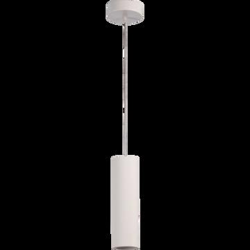 Suspension en plâtre blanc D7xH35cm-GIPSY