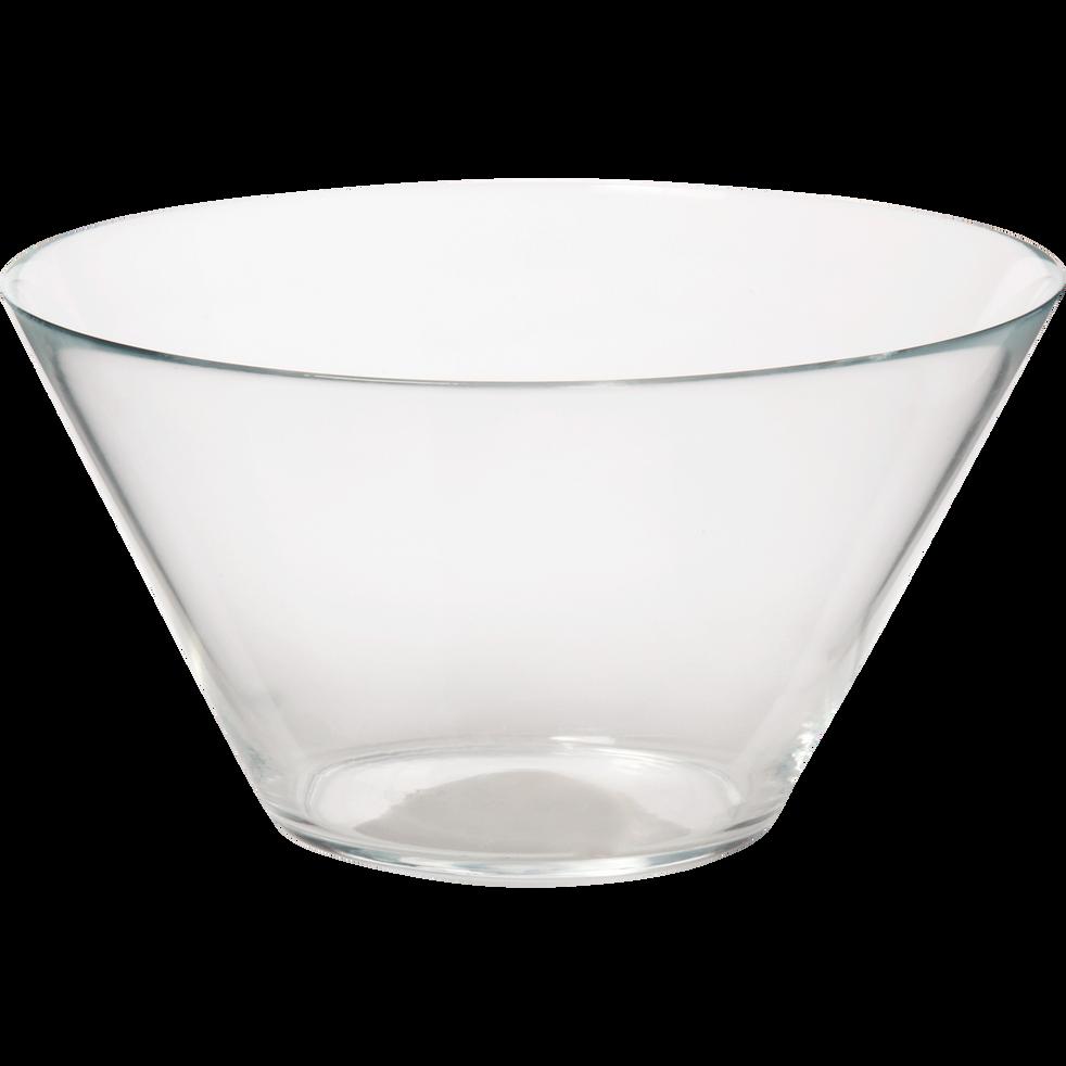 Saladier en verre 26cm-Illys
