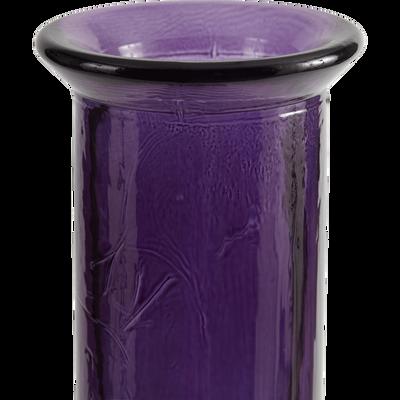 Kyara Vase en verre recyclé violet H100cm Référence : 26496085